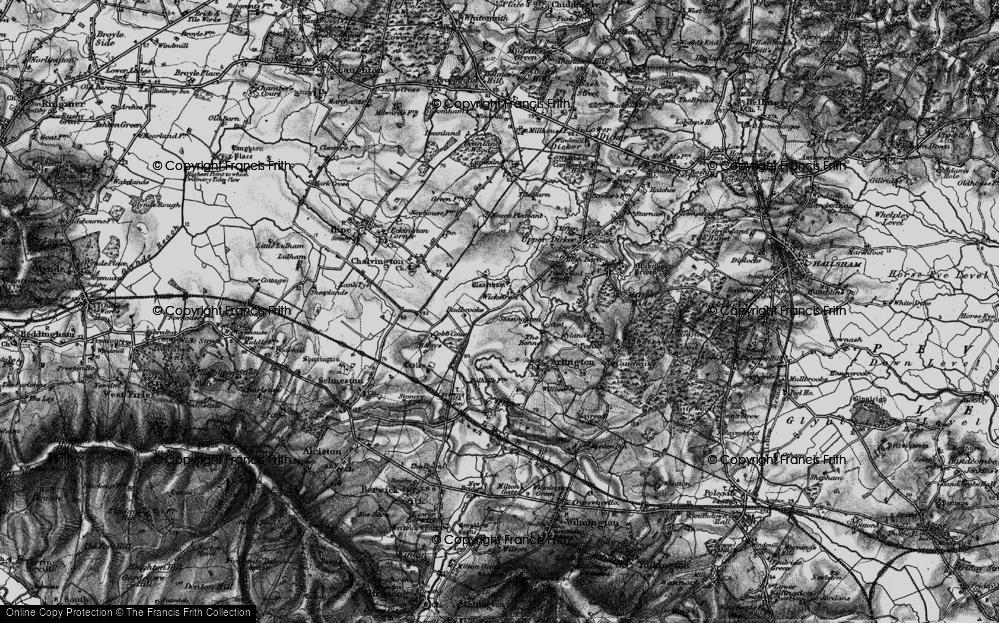 Old Map of Wickstreet, 1895 in 1895