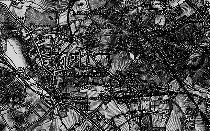 Old map of Widmore in 1895