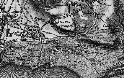 Old map of Wig Fach in 1897