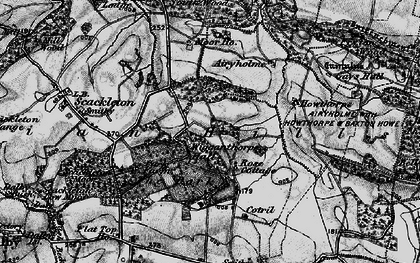 Old map of Airyholme in 1898