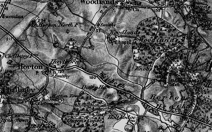 Old map of Wigbeth in 1895