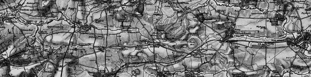 Old map of Wigginton Heath in 1896