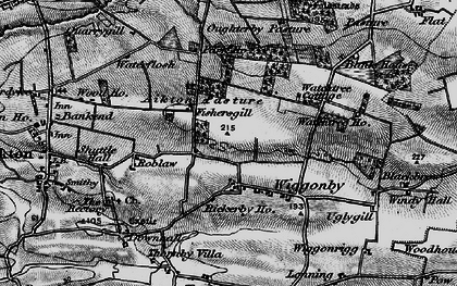 Old map of Wiggonby in 1897