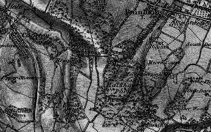 Old map of Wigmore in 1895