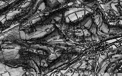 Old map of Wilberlee in 1896