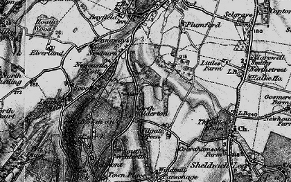 Old map of Wilgate Green in 1895