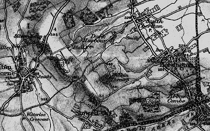 Old map of Wilkin Throop in 1898