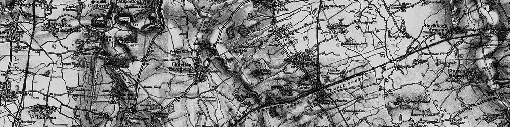 Old map of Wilkinthroop in 1898