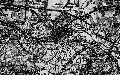 Old map of Willenhall in 1899