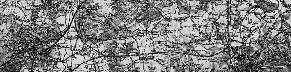 Old map of Willey Green in 1896