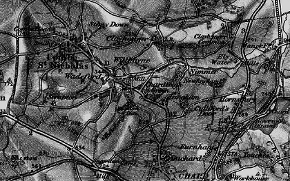 Old map of Willhayne in 1898