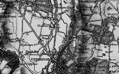 Old map of Willowbank in 1896