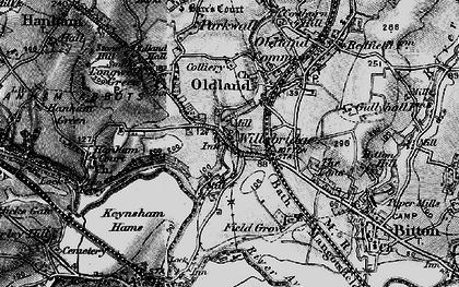 Old map of Willsbridge in 1898