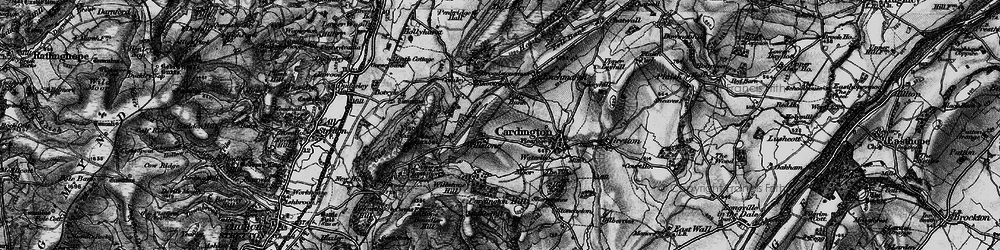 Old map of Willstone in 1899