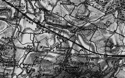 Old map of Wilmington Green in 1895
