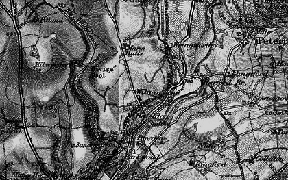 Old map of Wilminstone in 1896