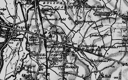 Old map of Wilnecote in 1899