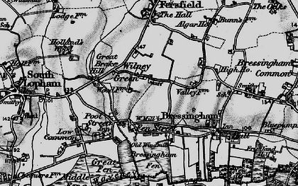 Old map of Algar Ho in 1898