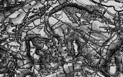 Old map of Wilsden in 1898