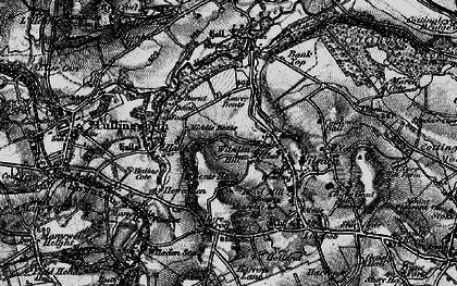 Old map of Wilsden Hill in 1898