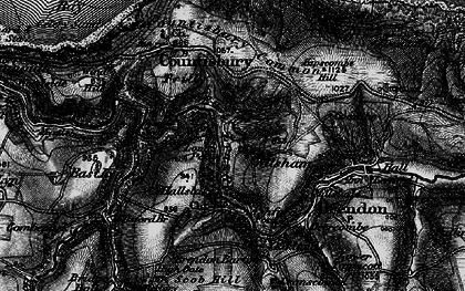 Old map of Wilsham in 1898