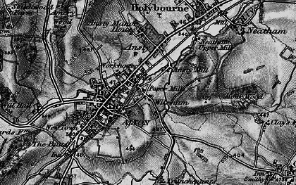 Old map of Wilsom in 1895