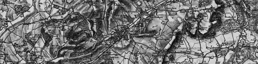 Old map of Wilsom in 1895