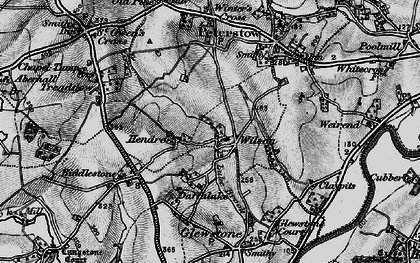 Old map of Wilson in 1896