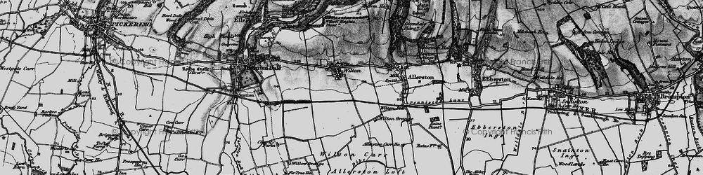 Old map of Wilton Carr in 1898