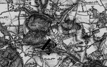 Old map of Wilton Park in 1896