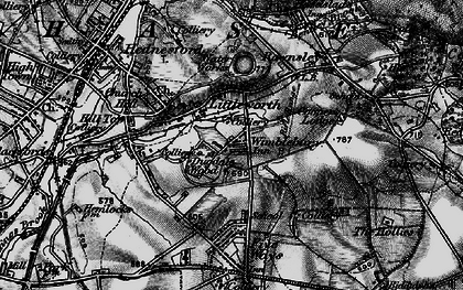 Old map of Wimblebury in 1898