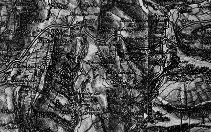 Old map of Withenshaw in 1896