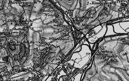 Old map of Wincobank in 1896