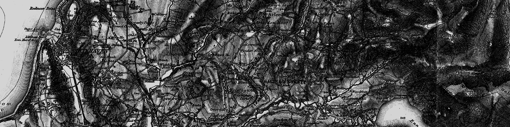 Old map of Winder Brow in 1897