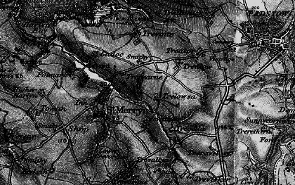 Old map of Windmill in 1895