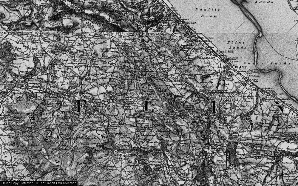 Old Map of Windmill, 1896 in 1896