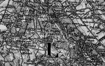 Old map of Windmill in 1896