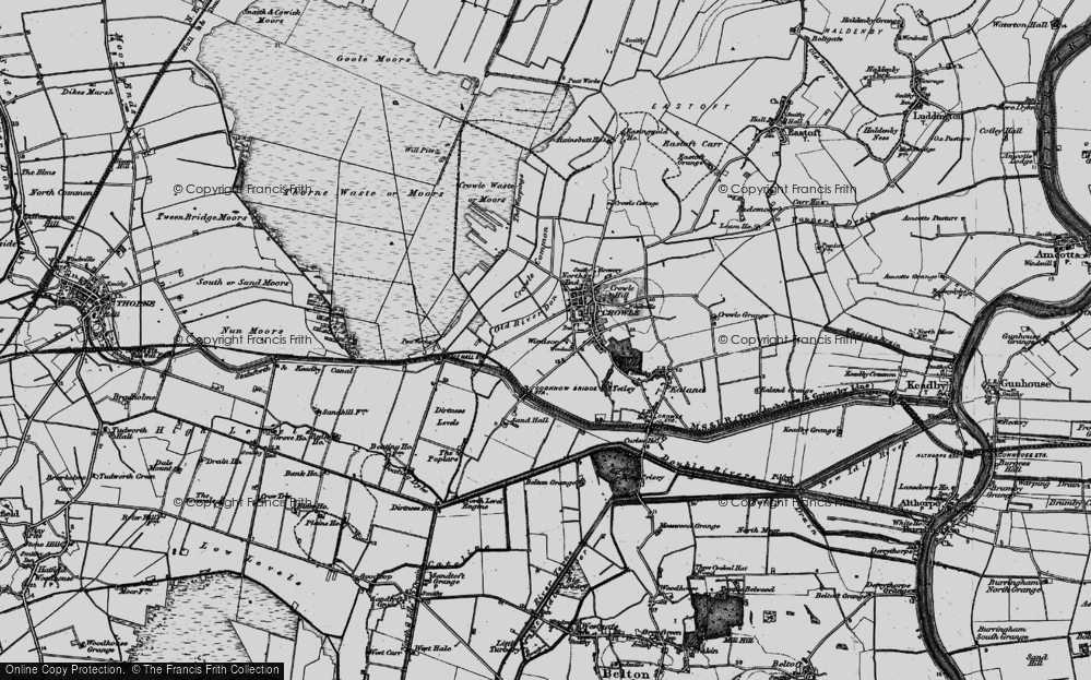 Old Map of Windsor, 1895 in 1895