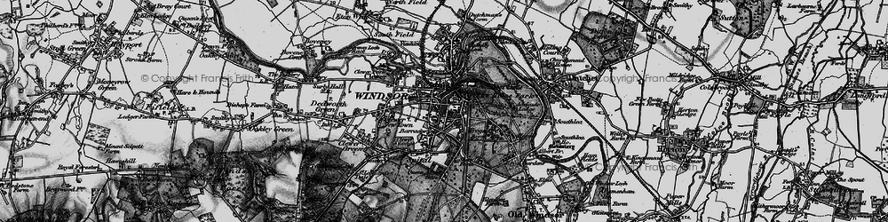 Old map of Adelaide Cottage in 1896