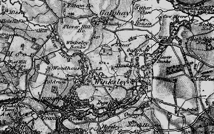 Old map of Winksley in 1897