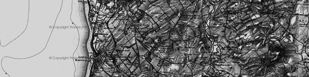 Old map of Winscales in 1897