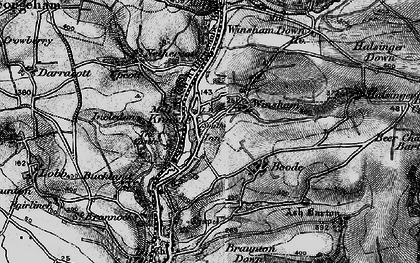 Old map of Winsham in 1897