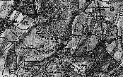 Old map of Winslade in 1895