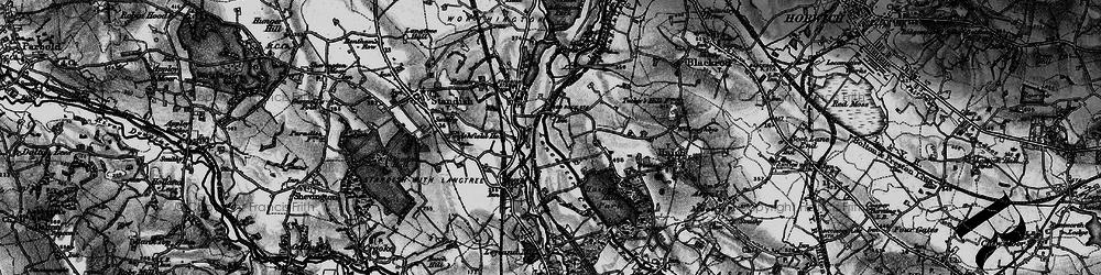 Old map of Winstanleys in 1896