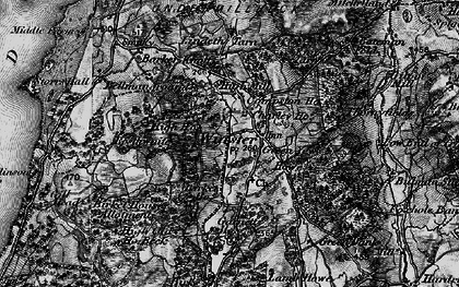 Old map of Winster in 1897