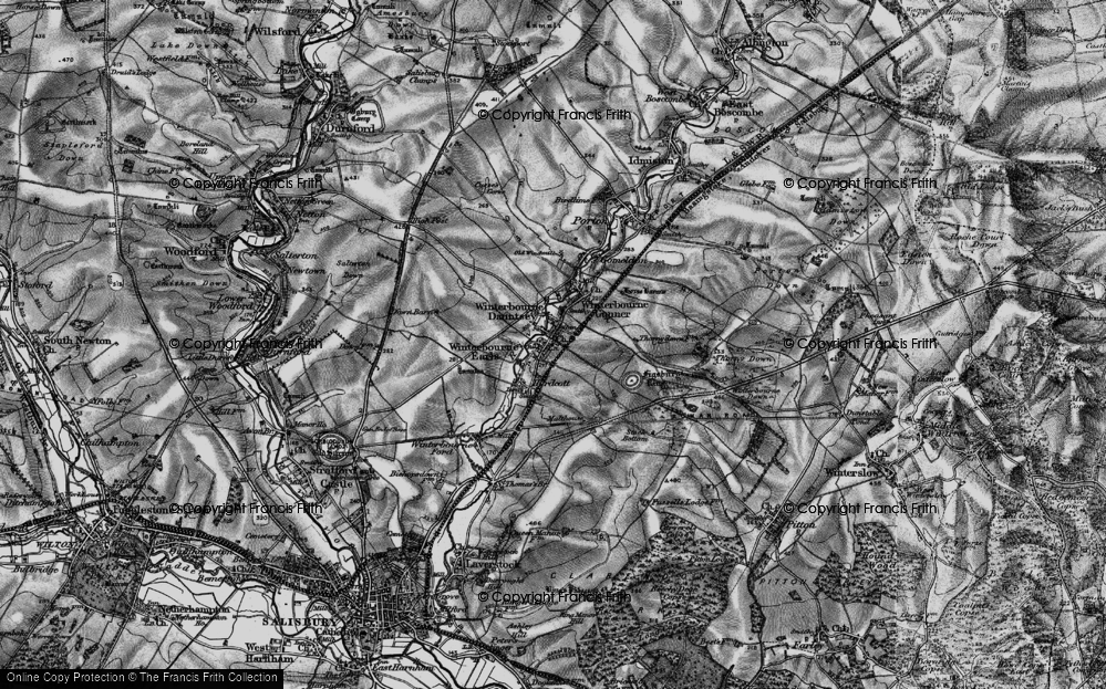 Winterbourne Dauntsey, 1898