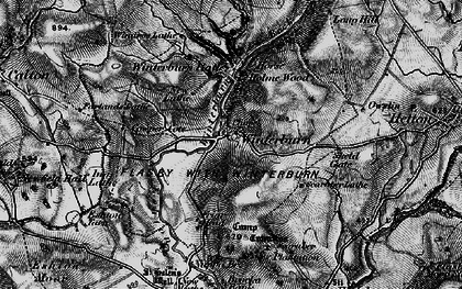 Old map of Windros Laithe in 1898