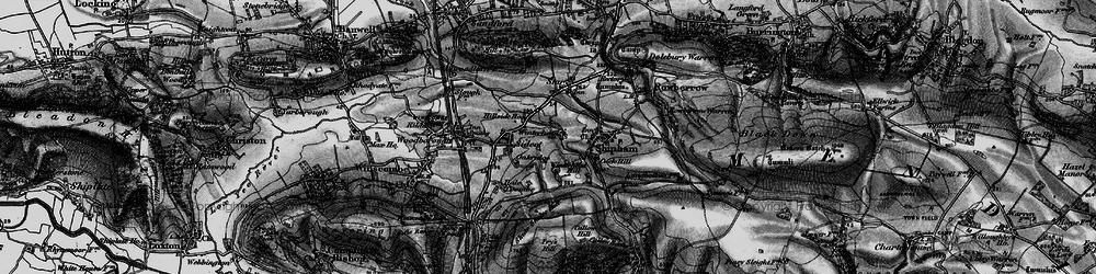 Old map of Winterhead in 1898