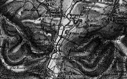 Old map of Winton in 1895