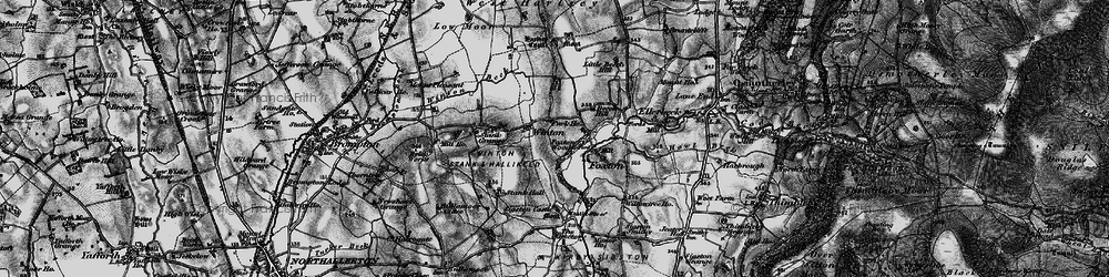 Old map of Winton Grange in 1898